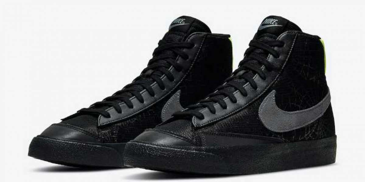 New Nike Blazer Mid Spider Web Releasing For Halloween