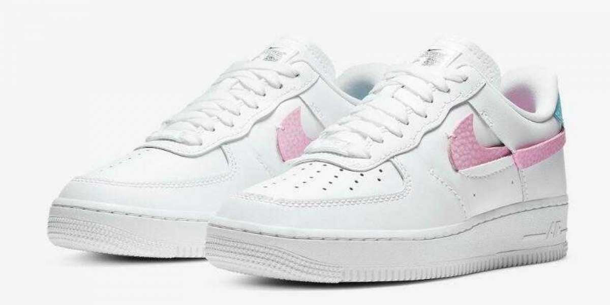 Do Not Missed the DC1164-101 Nike Air Force 1 LXX White Pink