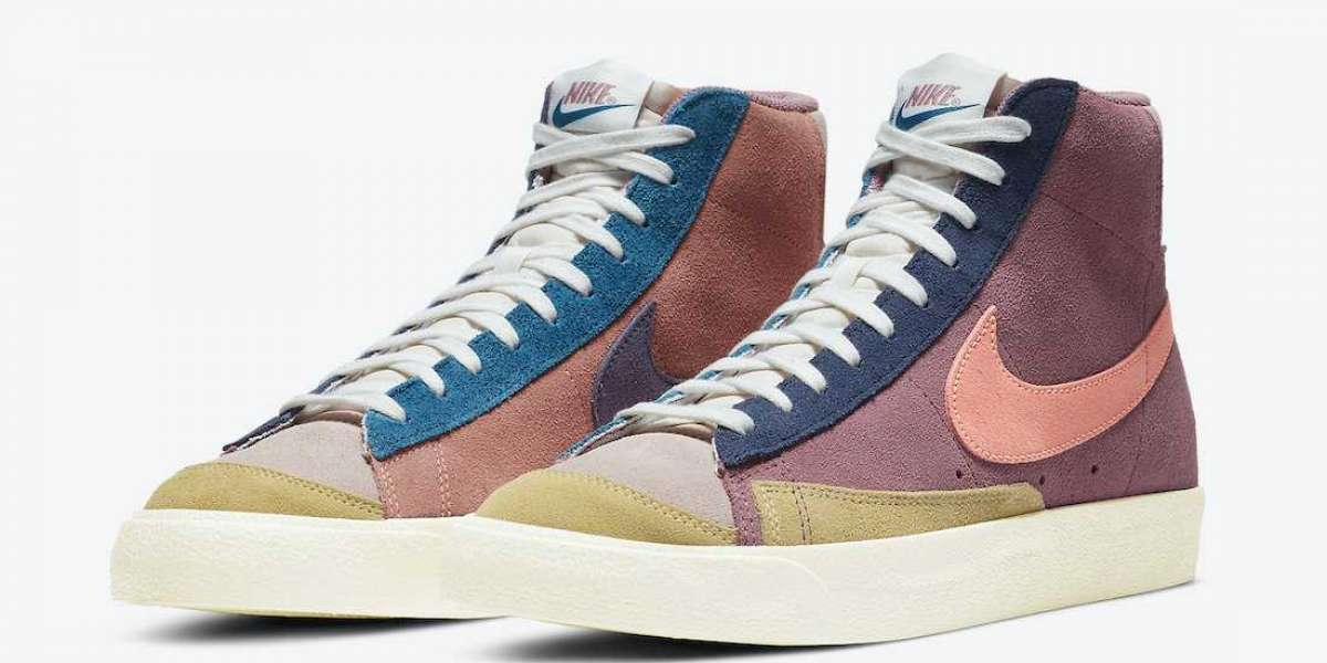 DC9179-664 Nike Blazer Mid '77 Vintage WE Suede Multi Releasing Soon