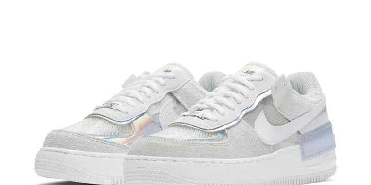 Latest WNMS Nike Air Force 1 Shadow SE Pure Platinum White DC5255-043