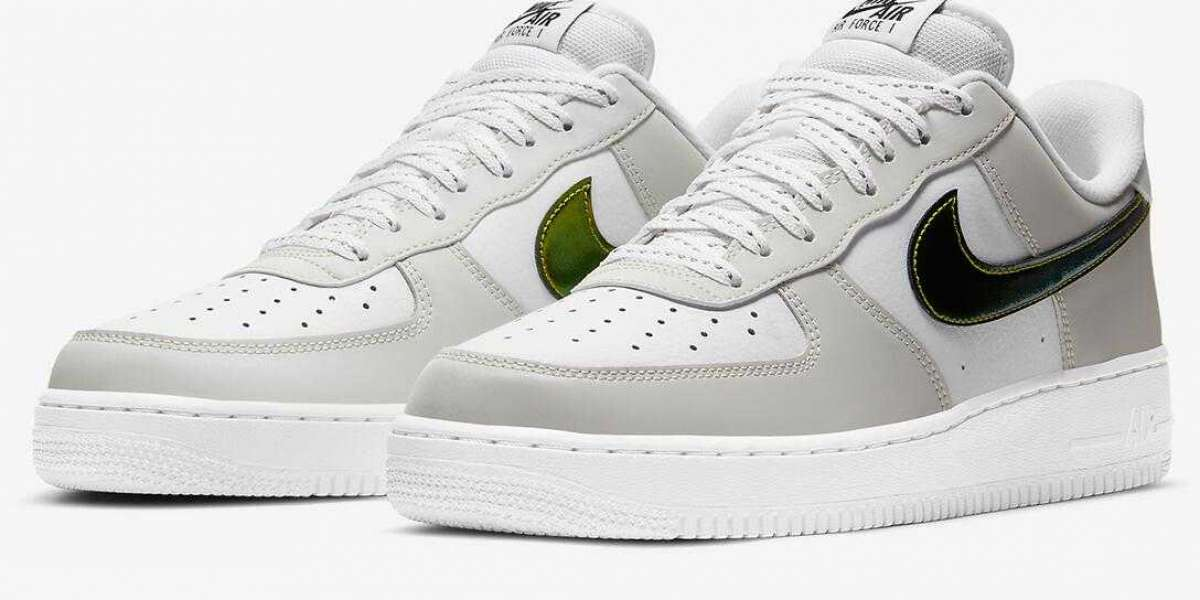 Dior-Colored Nike Air Force 1 Metallic Swooshes Coming Soon