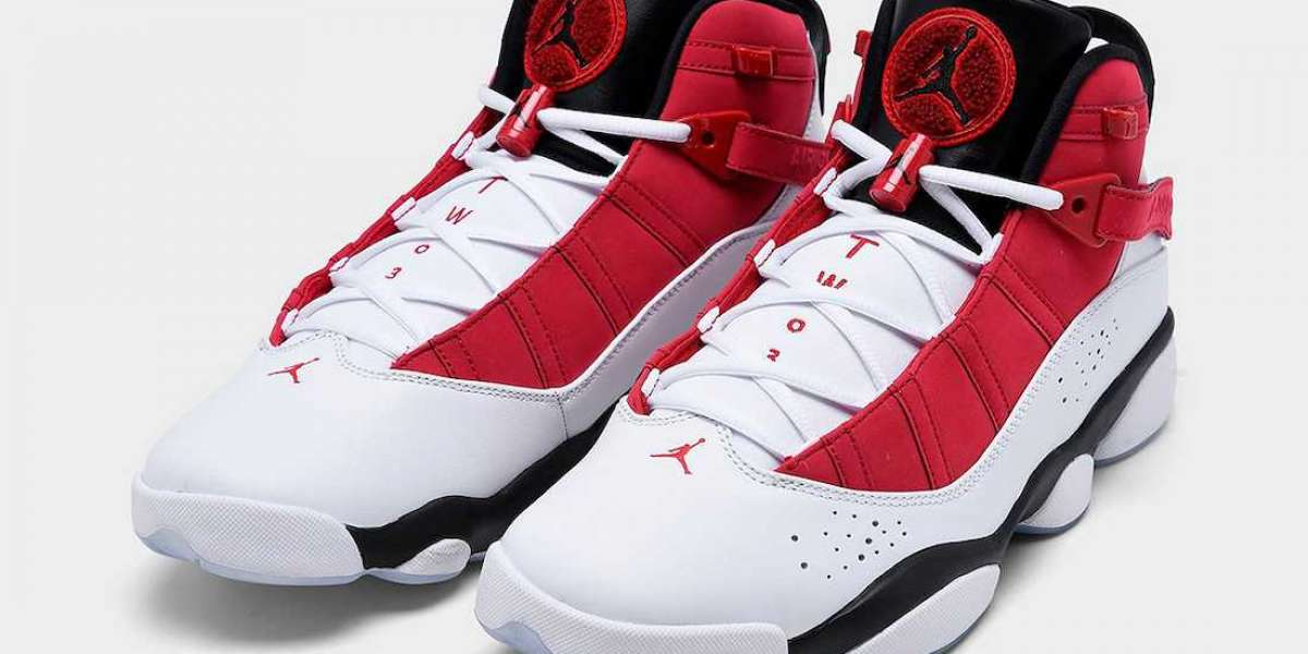 New 2020 Jordan 6 Rings 322992-106 Basketball Shoes