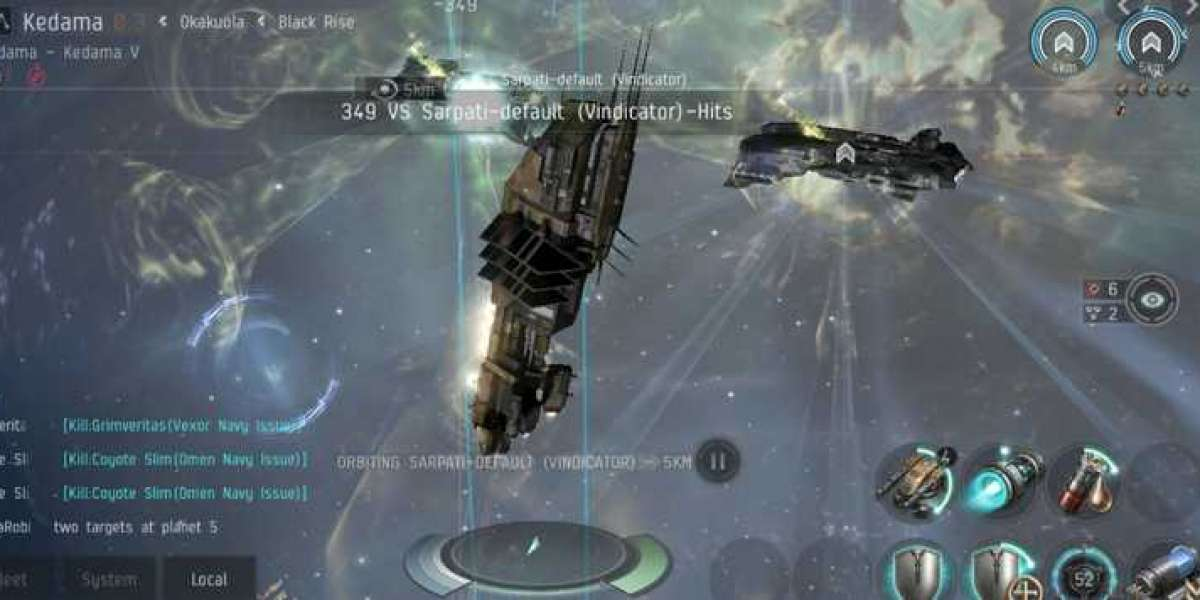 Tiny stealth bomber in EVE Online