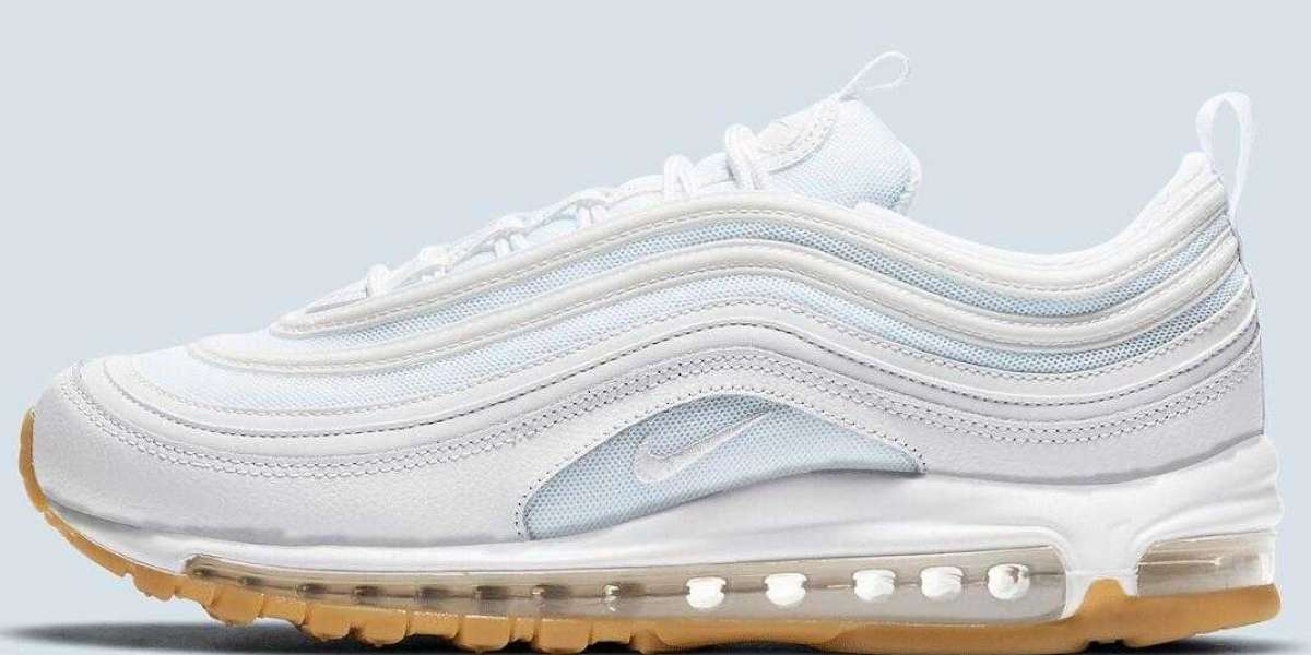 The Nike Air Max 97 Releasing With White Light Gum Brown Colorway
