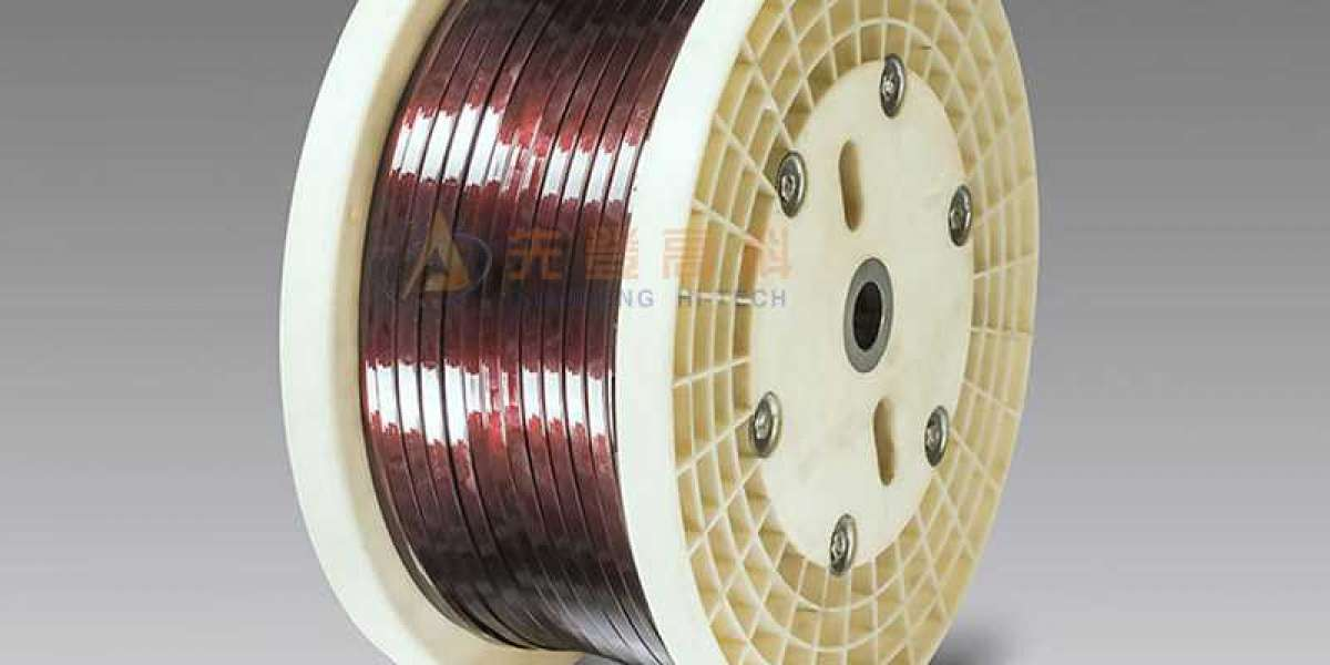 Rectangular Enameled Wire Is Often Used For High Frequency Winding Wire