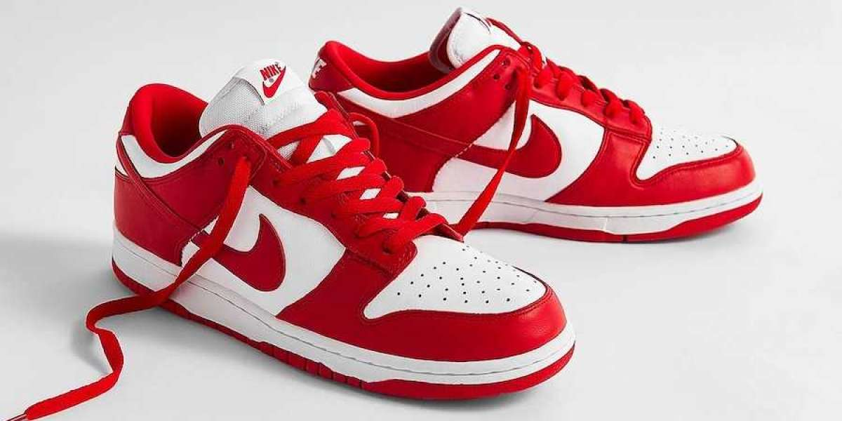 """CU1727-100 Nike Dunk Low SP """"University Red"""" at lowest price"""