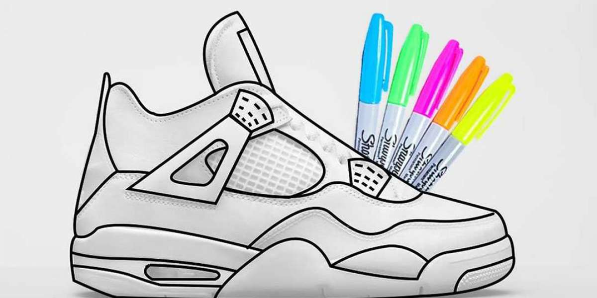 """Latest 2021 Air Jordan 4 Retro GS """"DIY"""" to release on August 19th"""