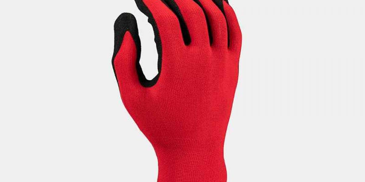Analyze the properties of nitrile gloves