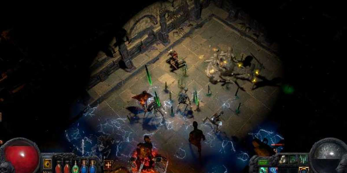 Path of Exile provides players with purchasable cursors