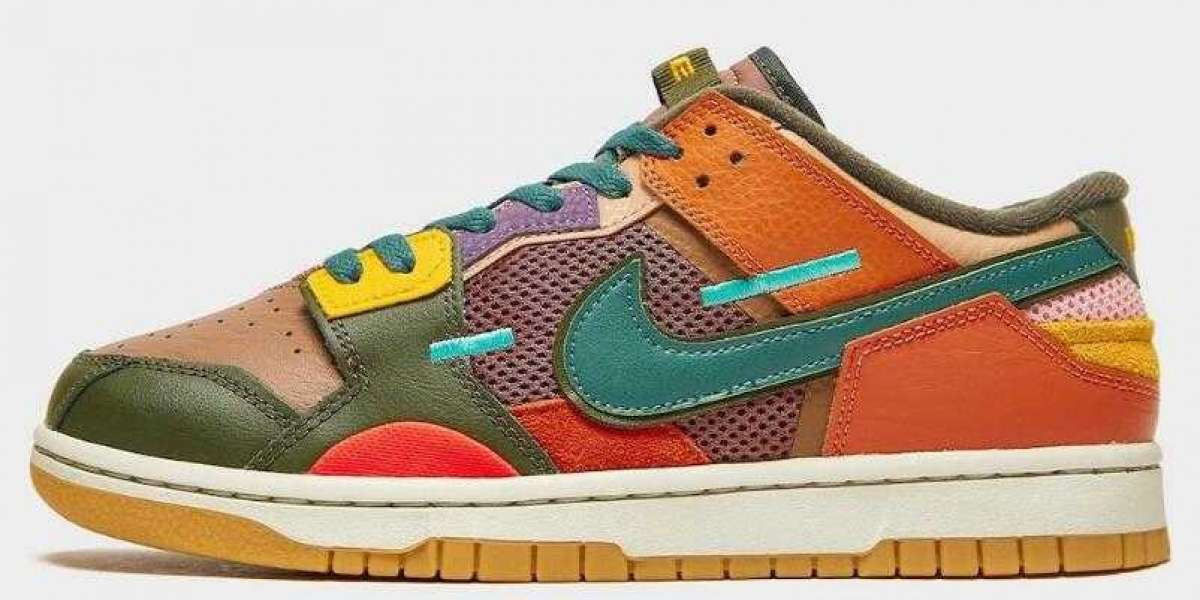 """Looking forward to Nike Dunk Low Scrap """"Archeo Brown"""" Coming"""