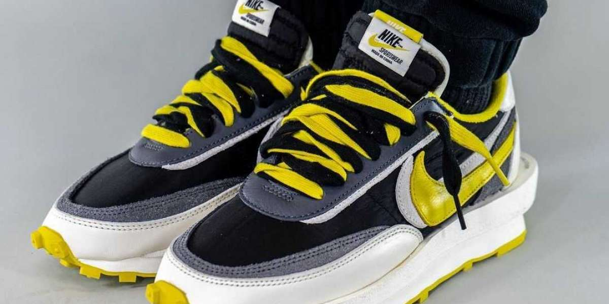 Best Selling UNDERCOVER x sacai x Nike LDWaffle Bright Citron