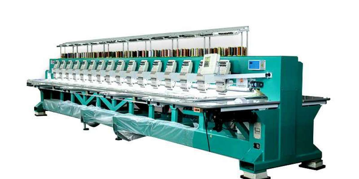 Features of high-speed embroidery machine