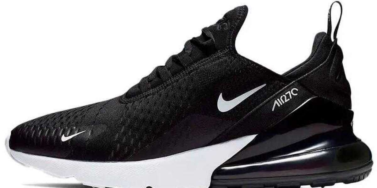 Buy Free Shipping Nike Air Max 270 Black White With Coupons