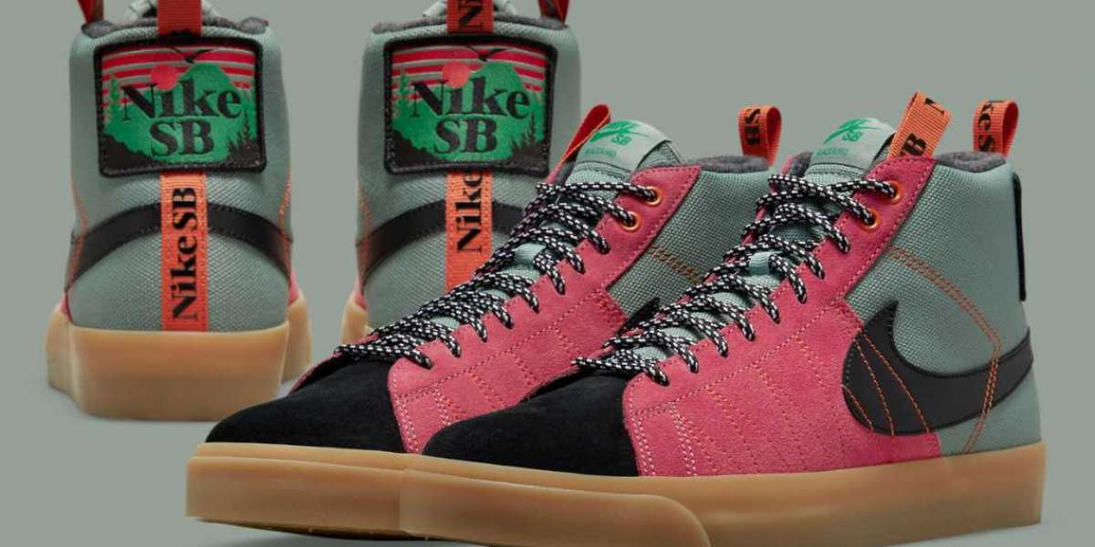 """Nike SB Blazer Mid """"Acclimate Pack"""" DC8903-301 will be released soon"""