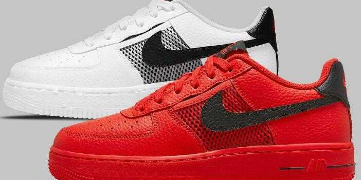 Mesh Pockets Dress Up The Upcoming Nike Air Force 1 Low
