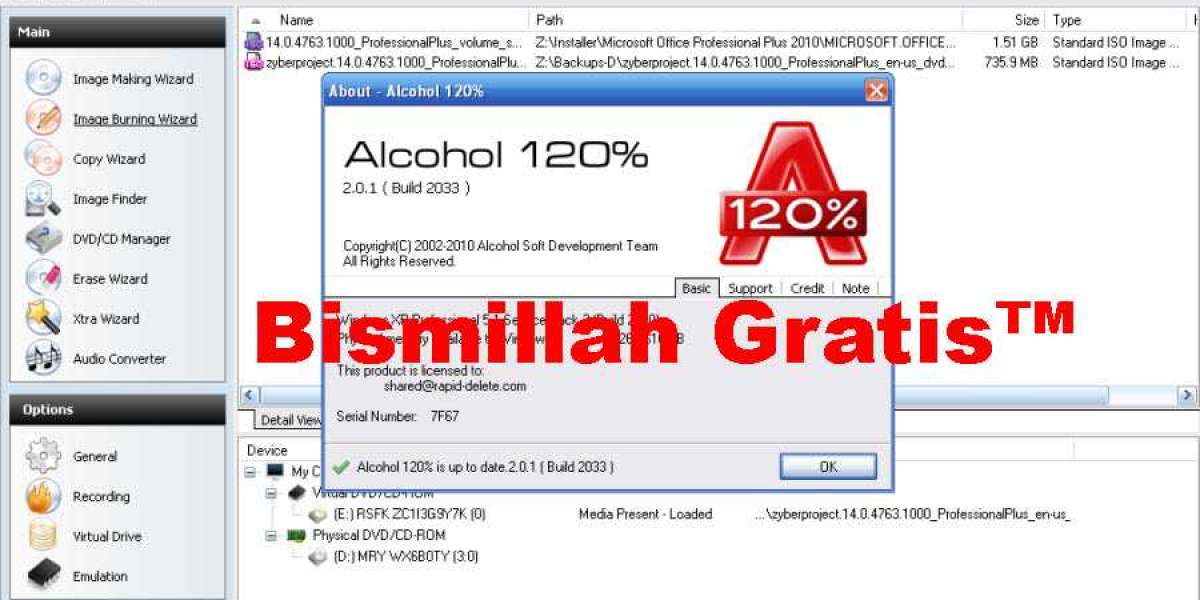 Full Alcohol 120 2.0.1 Pc Iso License Download Cracked
