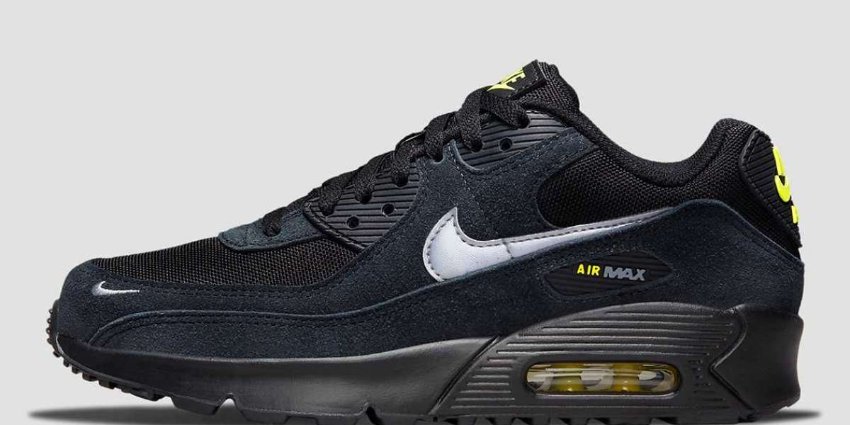 """Nike Air Max 90 """"Black/Yellow"""" For Sale DO6706-001"""